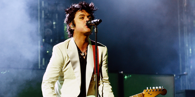 Billie Joe Armstrong, November 2019